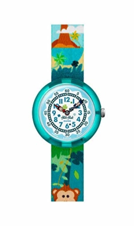 Flik Flak Jungen Analog Quarz Uhr mit Textil Armband FBNP128 - 1