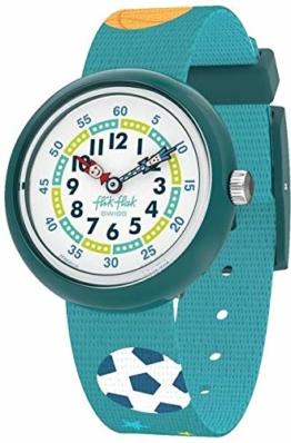 Flik Flak Jungen Analog Quarz Uhr mit Textil Armband FBNP138 - 1