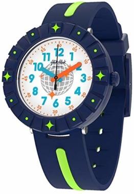 Flik Flak Jungen Analog Quarz Uhr mit Textil Armband FCSP090 - 1