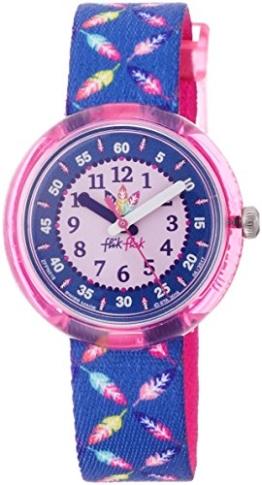 Flik Flak Mädchen Analog Quarz Uhr mit Stoff Armband FPNP016 - 1