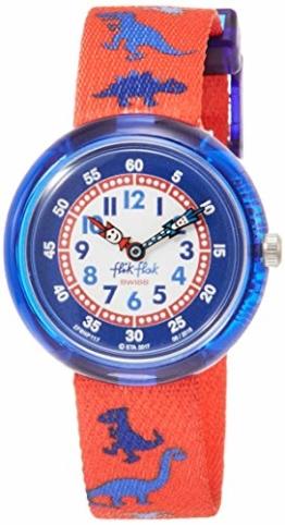 FlikFlak Jungen Analog Quarz Uhr mit Stoff Armband FBNP117 - 1