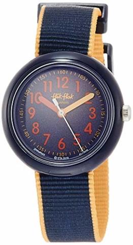 FlikFlak Jungen Analog Quarz Uhr mit Stoff Armband FPNP043 - 1