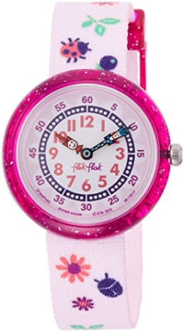 FlikFlak Mädchen Analog Quarz Uhr mit Stoff Armband FBNP093 - 1