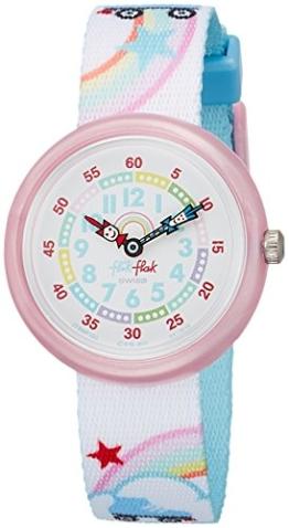 FlikFlak Mädchen Analog Quarz Uhr mit Stoff Armband FBNP102 - 1