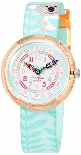 FlikFlak Mädchen Analog Quarz Uhr mit Stoff Armband FBNP109 - 1