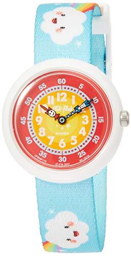 FlikFlak Mädchen Analog Quarz Uhr mit Stoff Armband FBNP115 - 1