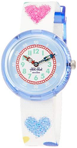 FlikFlak Mädchen Analog Quarz Uhr mit Stoff Armband FBNP116 - 1