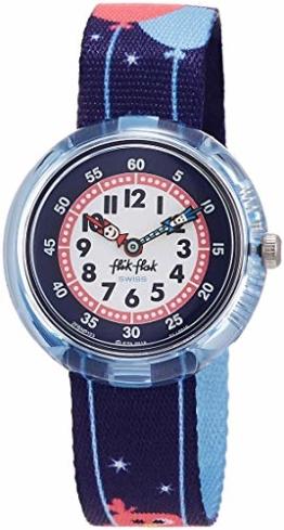 FlikFlak Mädchen Analog Quarz Uhr mit Stoff Armband FBNP123 - 1