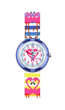 FlikFlak Mädchen Analog Quarz Uhr mit Stoff Armband FPNP029 - 1