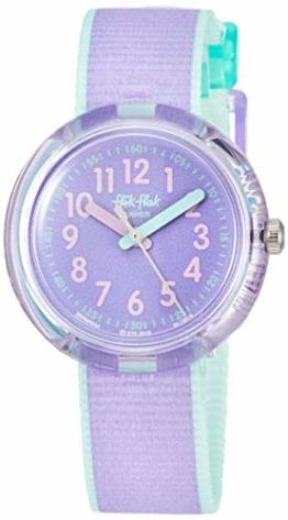 FlikFlak Mädchen Analog Quarz Uhr mit Stoff Armband FPNP044 - 1