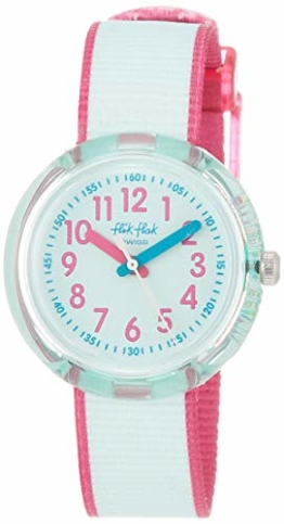 FlikFlak Mädchen Analog Quarz Uhr mit Stoff Armband FPNP046 - 1