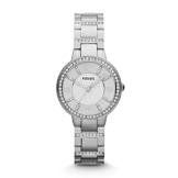 Fossil Damen Analog Quarz Uhr mit Edelstahl Armband ES3282 - 1