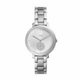 Fossil Damen Analog Quarz Uhr mit Edelstahl Armband ES4437 - 1