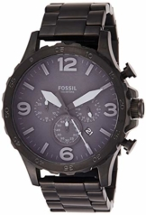 Fossil Herren Analog Quarz Uhr mit Edelstahl Armband JR1401 - 1