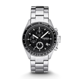 Fossil Herren Chronograph Quarz Uhr mit Edelstahl Armband CH2600IE - 1