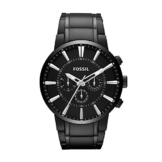 Fossil Herren Chronograph Quarz Uhr mit Edelstahl Armband FS4778 - 1