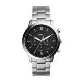Fossil Herren Chronograph Quarz Uhr mit Edelstahl Armband FS5384 - 1