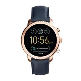 Fossil Q Explorist Smartwatch Leder FTW4002 - 1