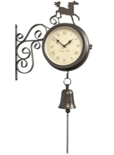 Gartenuhr mit Thermometer - 1