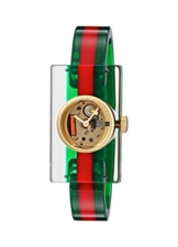 GUCCI PLEXI WATCH FASHION SHOW COLLECTION YA143501 - 1