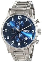 Hugo Boss Herren-Armbanduhr Chronograph Quarz Edelstahl 1513183 - 1