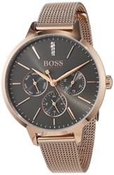 Hugo BOSS Unisex Multi Zifferblatt Quarz Uhr mit Edelstahl Armband 1502424 - 1