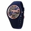 Ice-Watch - Bastogne Glam Twilight - Blaue Damenuhr mit Silikonarmband - 016638 (Small) - 1