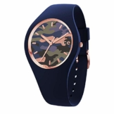 Ice-Watch - Bastogne Glam Twilight - Blaue Damenuhr mit Silikonarmband - 016638 (Small) - 1