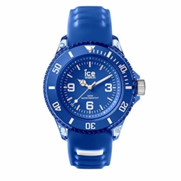 Ice-Watch - Ice Aqua Marine - Blaue Jungenuhr mit Silikonarmband - 001455 (Small) - 1