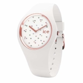 Ice-Watch - Ice Cosmos Star White - Weiße Damenuhr mit Silikonarmband - 016297 (Medium) - 1