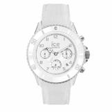Ice-Watch - Ice Dune White - Weiße Herrenuhr mit Silikonarmband - Chrono - 014217 (Large) - 1