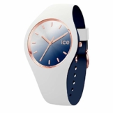 Ice-Watch - ICE duo chic White marine - Weiße Damenuhr mit Silikonarmband - 016983 (Medium) - 1