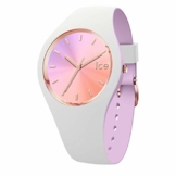 Ice-Watch - ICE duo chic White orchid - Weiße Damenuhr mit Silikonarmband - 016978 (Small) - 1