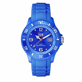Ice-Watch - Ice Forever Blue - Blaue Herrenuhr mit Silikonarmband - 000135 (Medium) - 1