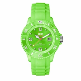 Ice-Watch - Ice Forever Green - Grüne Herrenuhr mit Silikonarmband - 000136 (Medium) - 1