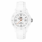 Ice-Watch - Ice Forever White - Weiße Herrenuhr mit Silikonarmband - 000134 (Medium) - 1