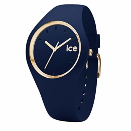 Ice-Watch - Ice Glam Forest Twilitght - Blaue Damenuhr mit Silikonarmband - 001059 (Medium) - 1