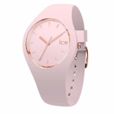 Ice-Watch - Ice Glam Pastel Pink lady - Rosa Damenuhr mit Silikonarmband - 001069 (Medium) - 1