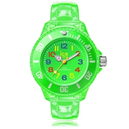 Ice-Watch - Ice Happy Neon green - Grüne Jungenuhr mit Plastikarmband - 001321 (Extra small) - 1