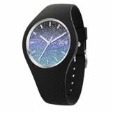 Ice-Watch - Ice lo Milky way - Schwarze Damenuhr mit Silikonarmband - 016903 (Medium) - 1