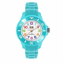 Ice-Watch - Ice Mini Turquoise - Türkise Jungenuhr mit Silikonarmband - 012732 (Extra small) - 1