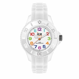 Ice-Watch - Ice Mini White - Weiße Jungenuhr mit Silikonarmband - 000744 (Extra small) - 1