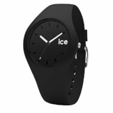 Ice-Watch - Ice Ola Black - Schwarze Herrenuhr mit Silikonarmband - 001226 (Medium) - 1