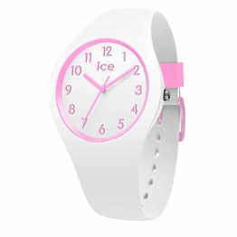 Ice-Watch - Ice Ola kids Candy white - Weiße Mädchenuhr mit Silikonarmband - 014426 (Small) - 1
