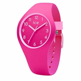 Ice-Watch - Ice Ola kids Fairy tale - Rosa Mädchenuhr mit Silikonarmband - 014430 (Small) - 1