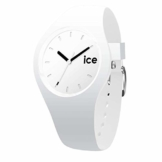 Ice-Watch - Ice Ola White Black - Weiße Damenuhr mit Silikonarmband - 000992 (Small) - 1