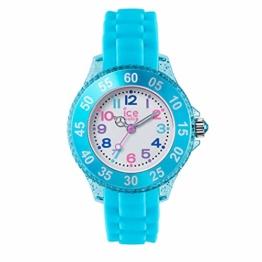 Ice-Watch - Ice Princess Turquoise - Türkise Mädchenuhr mit Silikonarmband - 016415 (Extra small) - 1