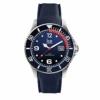 Ice-Watch - Ice Steel Marine - Blaue Herrenuhr mit Silikonarmband - 015774 (Large) - 1