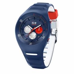 Ice-Watch - P. Leclercq Dark Blue - Blaue Herrenuhr mit Silikonarmband - Chrono - 014948 (Large) - 1