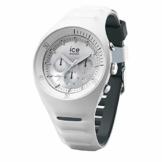 Ice-Watch - P. Leclercq White - Weiße Herrenuhr mit Silikonarmband - Chrono - 014943 (Large) - 1